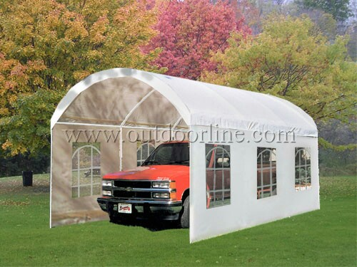 Pop Up Garage Tents : Quictent m heavy duty carport gazebo canopy party